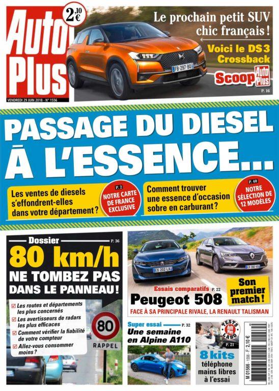Auto Plus France – 29 Juin 2018