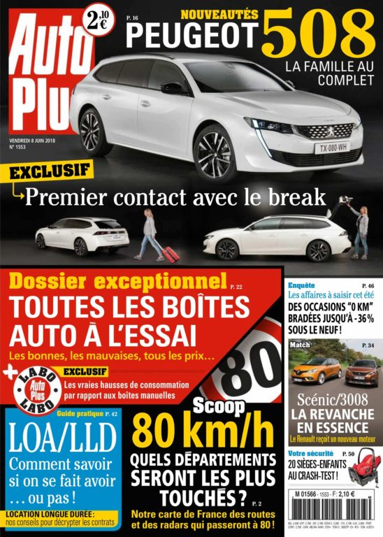 Auto Plus France – 08 Juin 2018