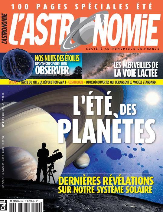 L'Astronomie – Juillet 2018