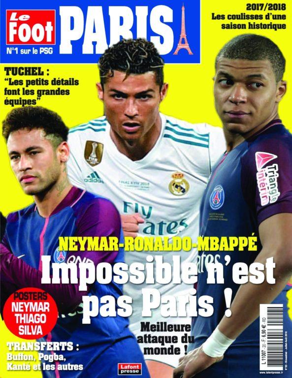 Le Foot Paris Magazine – 15 Juin 2018