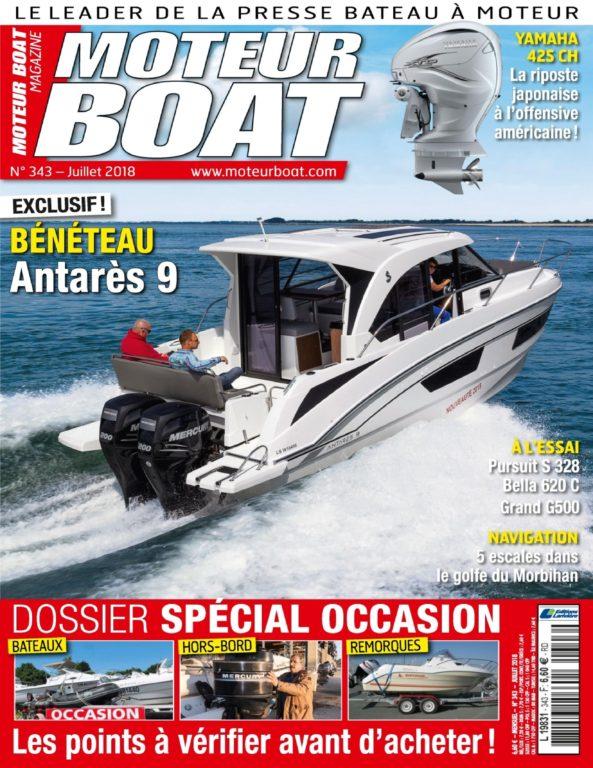 Moteur Boat – Juillet 2018