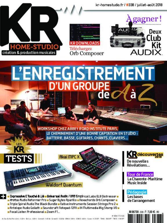 Keyboard Recording Home-Studio – Juillet 2018