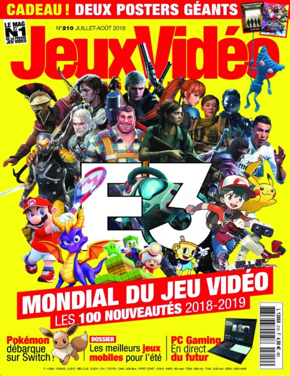 Jeux Vidéo Magazine – Juin 2018