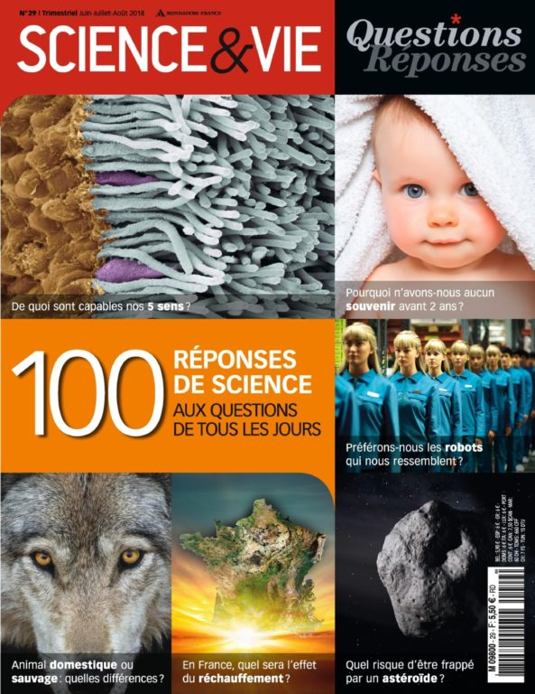 Science & Vie Questions Réponses – Juin 2018