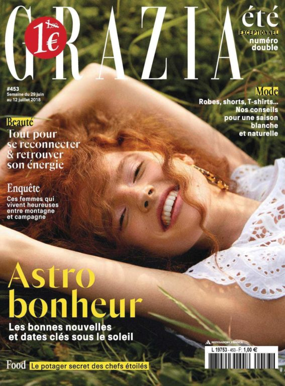 Grazia France – 29 Juin 2018