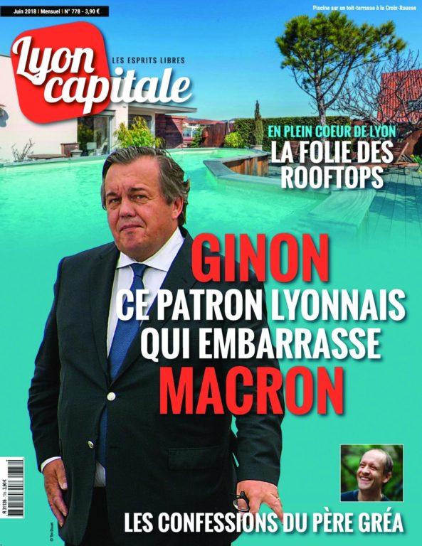 Lyon Capitale – 01 Juin 2018