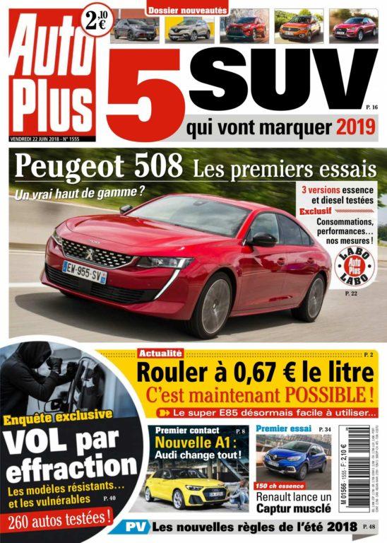 Auto Plus France – 22 Juin 2018