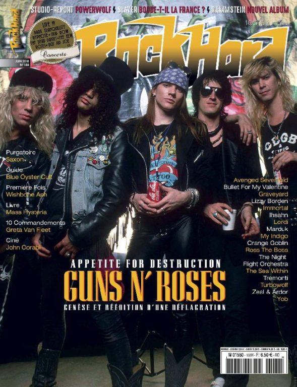 Rock Hard – Juin 2018
