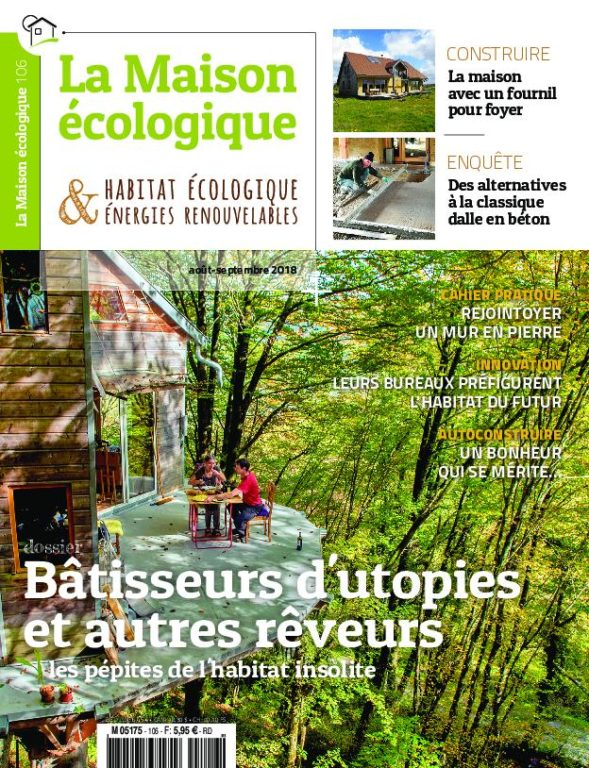 La Maison écologique – Août-septembre 2018