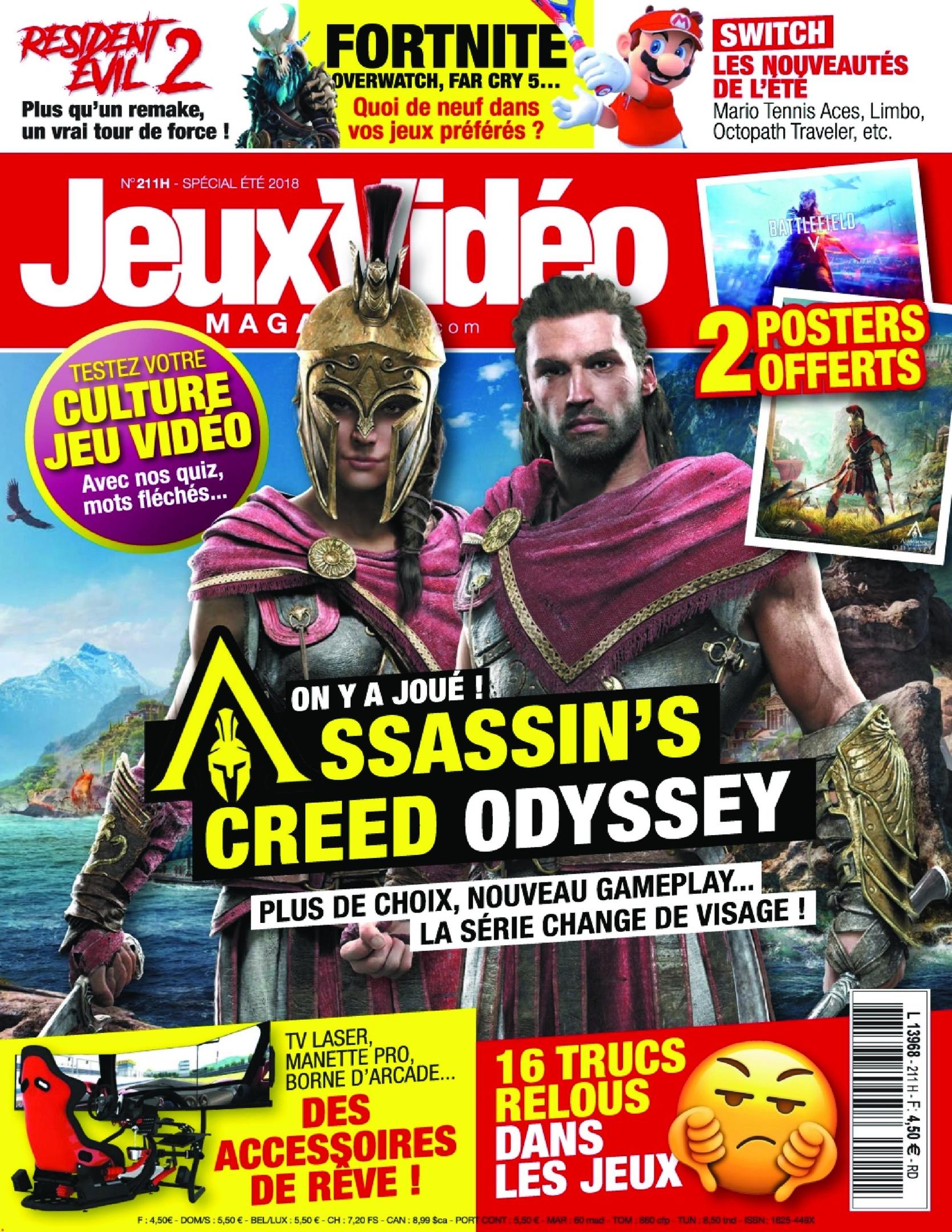 Jeux Vidéo Magazine – Juillet 2018