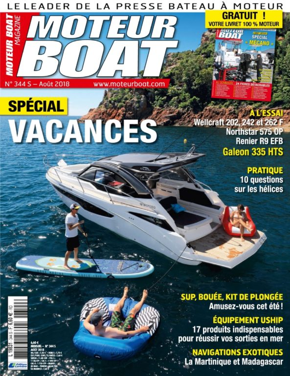 Moteur Boat – Août 2018
