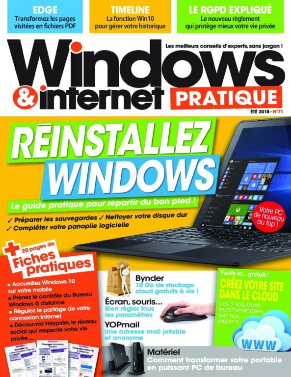 Windows & Internet Pratique – été 2018