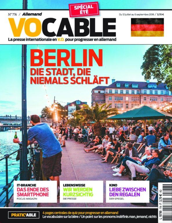 Vocable Allemand – 12 Juillet 2018