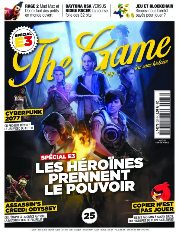 The Game – Juillet 2018