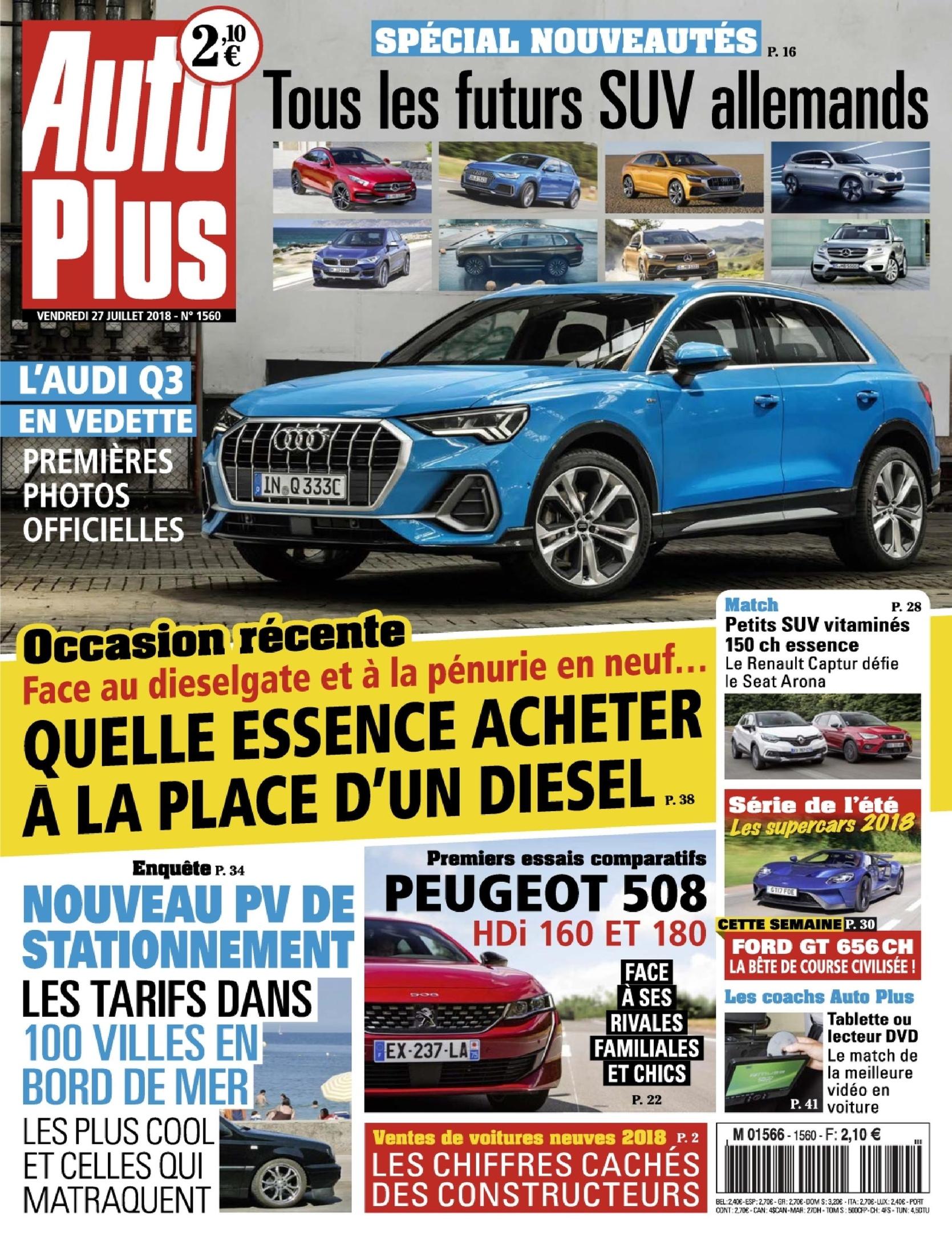 Auto Plus France – 27 Juillet 2018