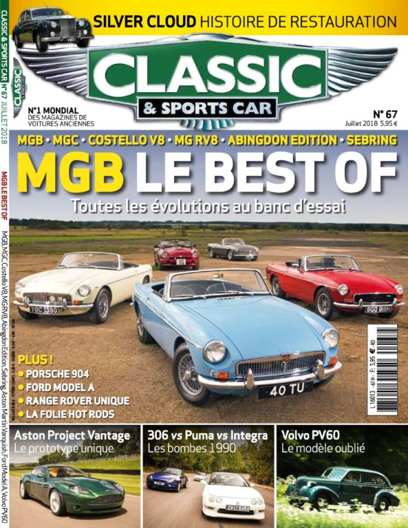 Classic & Sports Car France – Juillet 2018
