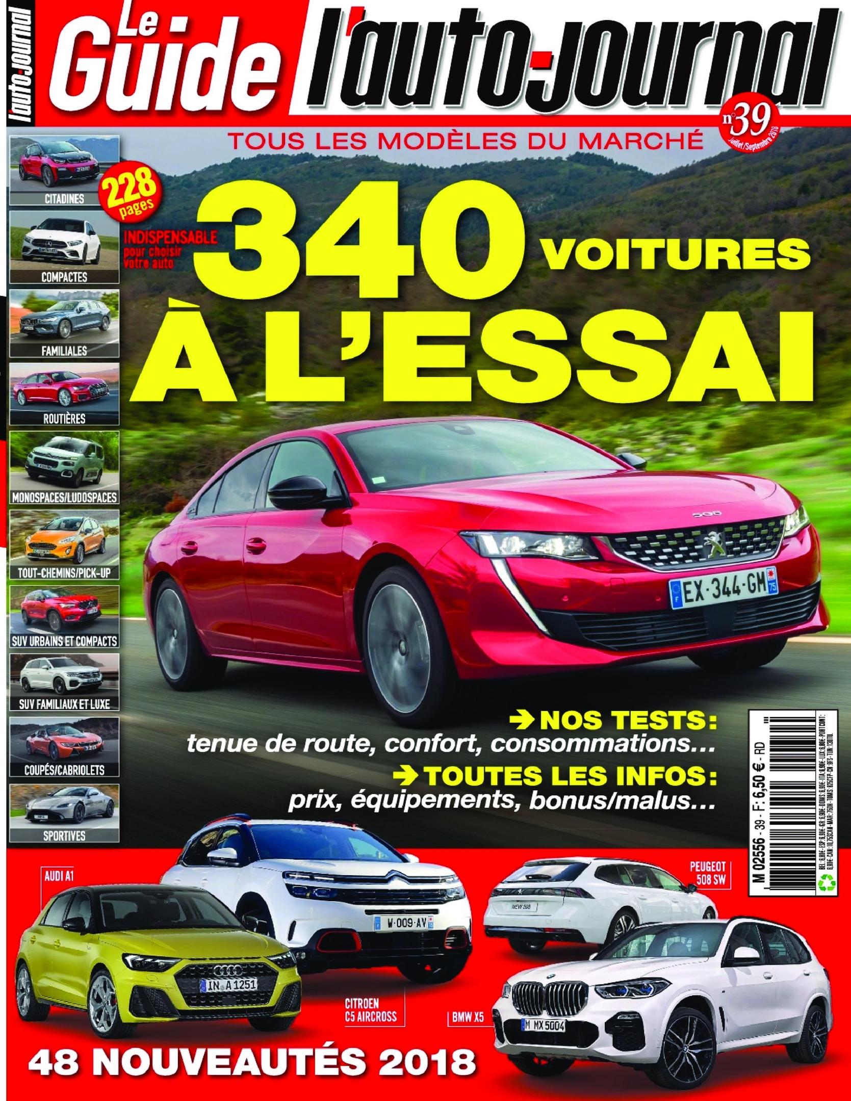 L'Auto-Journal (Le Guide) – Juillet 2018