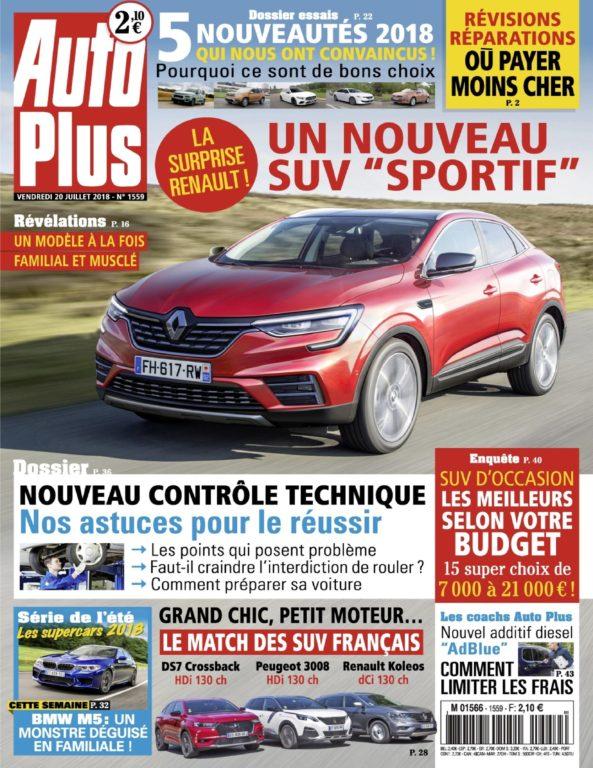 Auto Plus France – 20 Juillet 2018