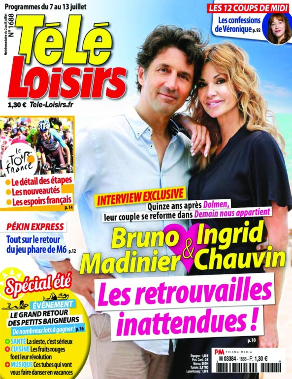 Télé Loisirs – 02 Juillet 2018