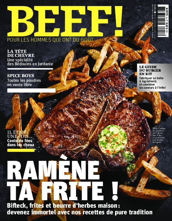 BEEF! Magazine – Juillet-août 2018