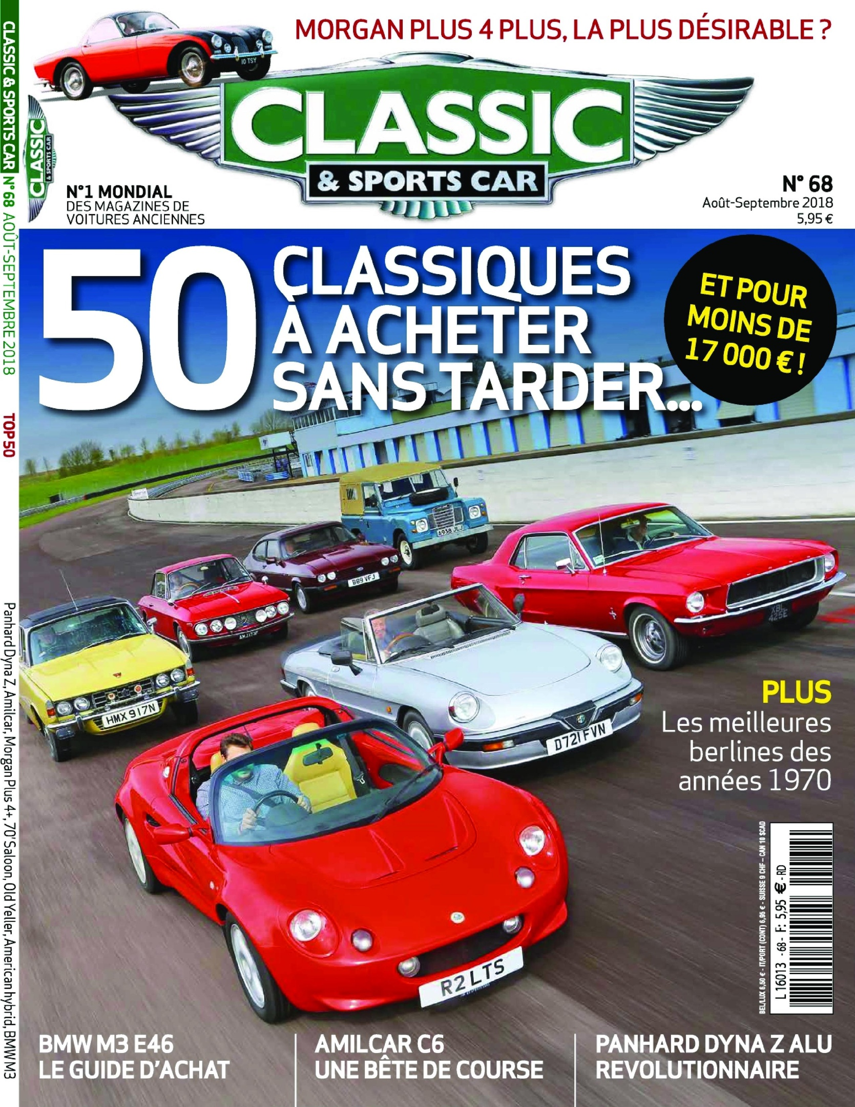 Classic & Sports Car France – Août 2018