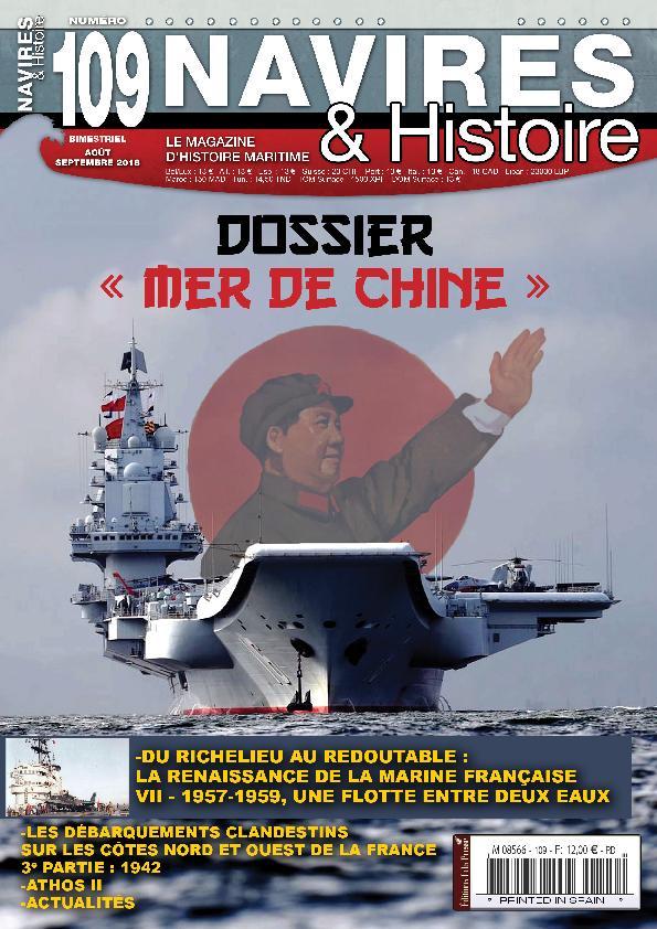 Navires & Histoire – Août-septembre 2018