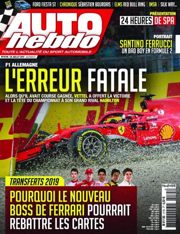 Auto Hebdo – 26 Juillet 2018