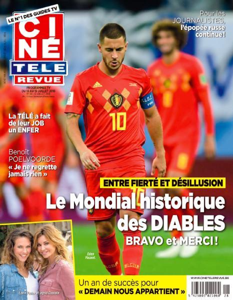 Ciné Télé Revue – 13 Juillet 2018