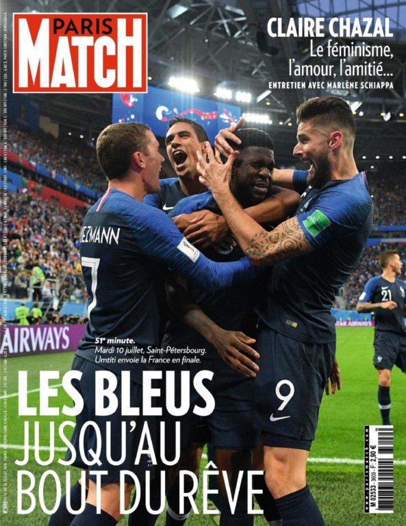Paris Match – 12 Juillet 2018