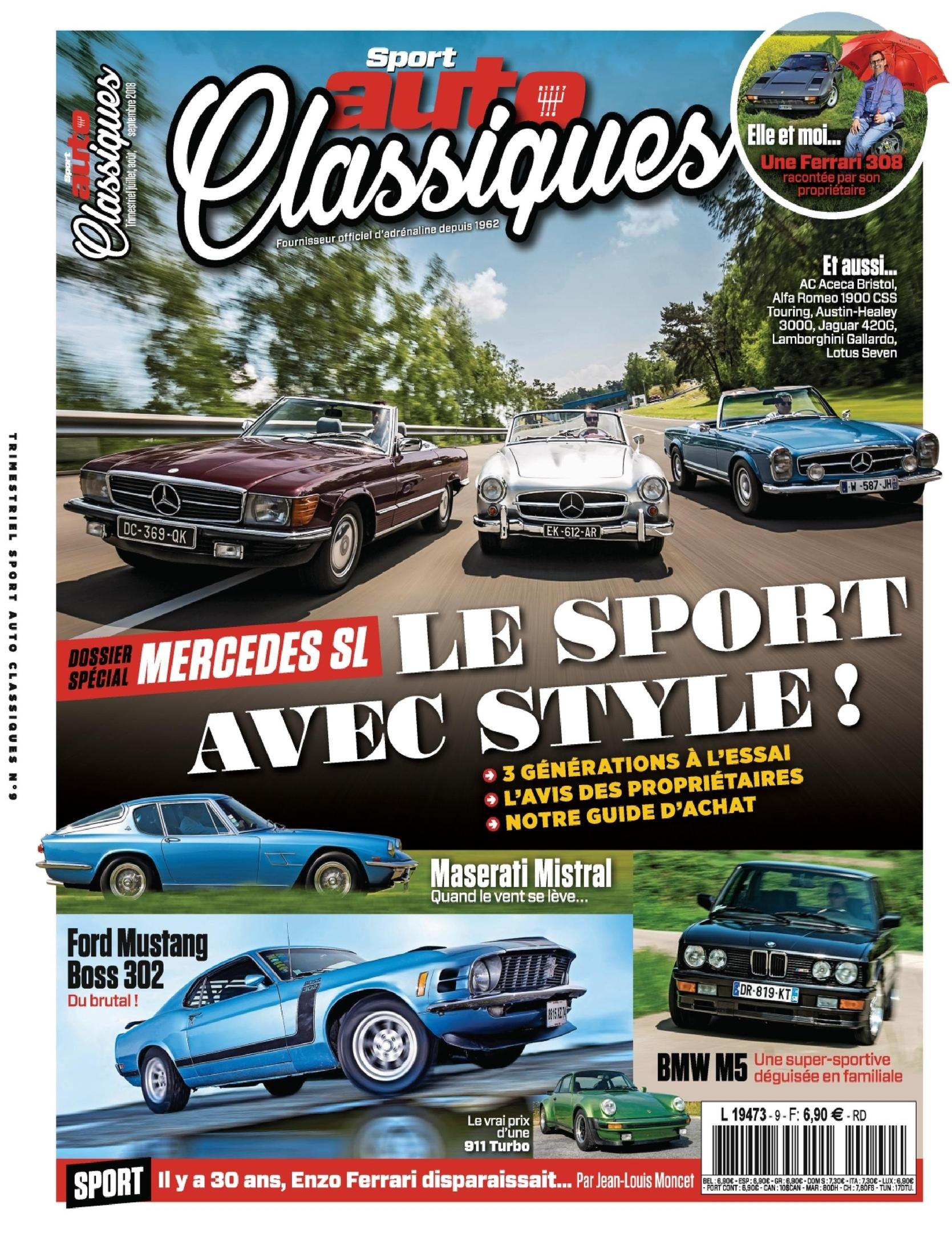 Sport Auto Classiques – Juillet 2018