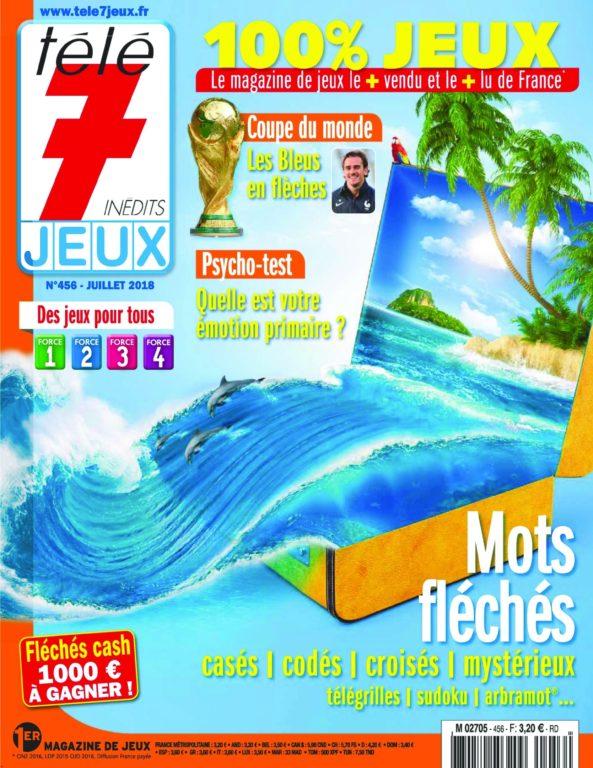 Télé 7 Jeux – 28 Juin 2018