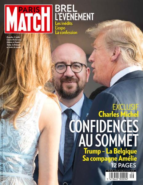Paris Match Belgique – 19 Juillet 2018