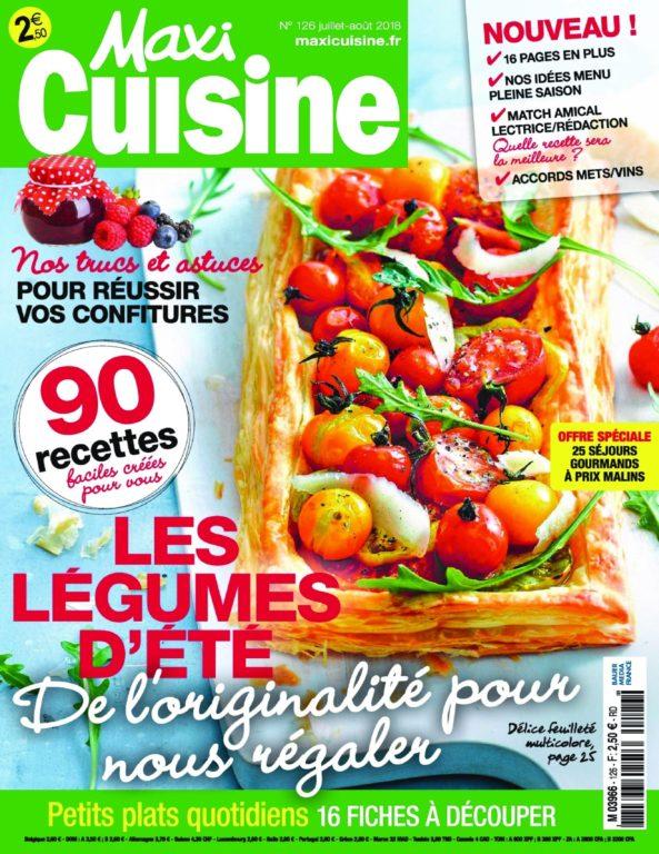 Maxi Cuisine – Juillet 2018