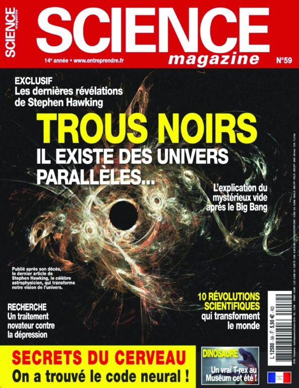 Science Magazine – Août 2018