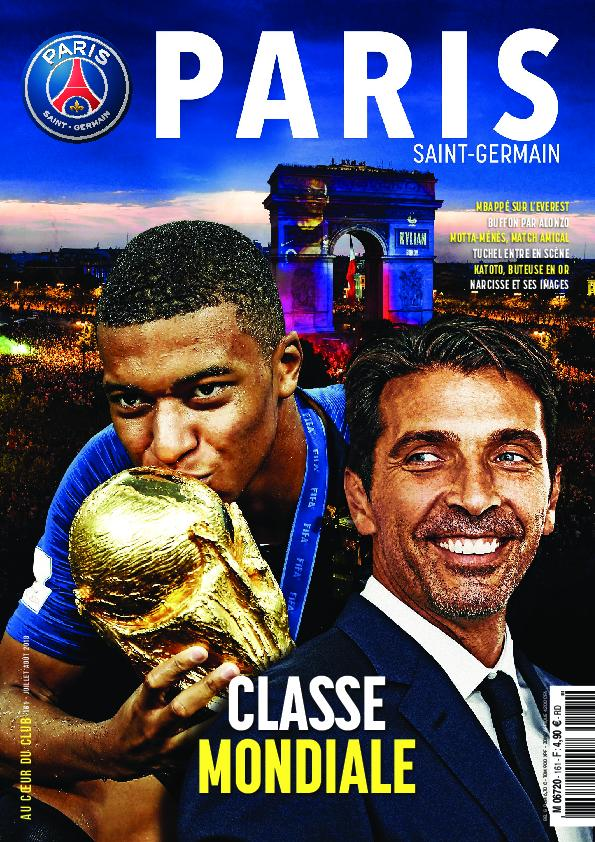 Paris Saint-Germain Le Magazine – Août-septembre 2018