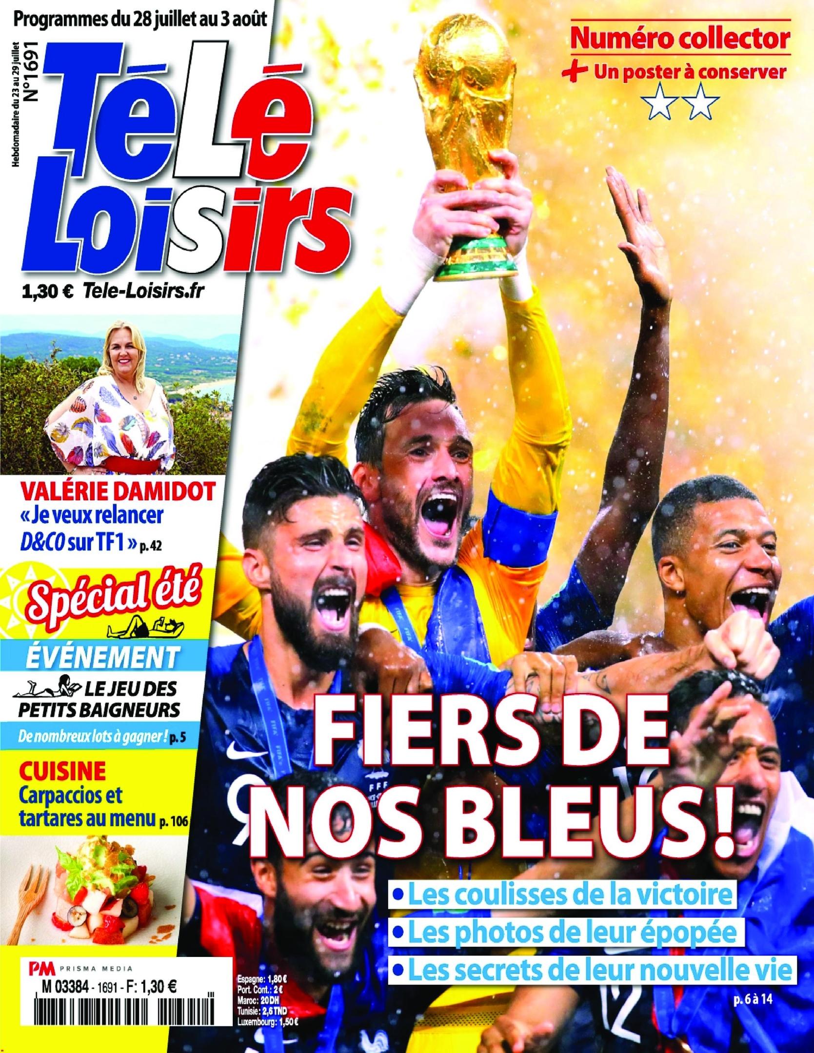 Télé Loisirs – 23 Juillet 2018