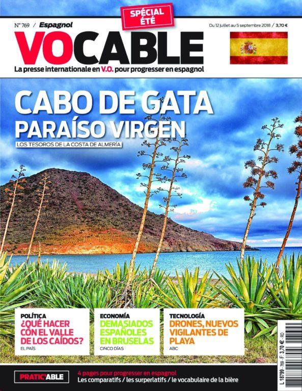 Vocable Espagnol – 12 Juillet 2018