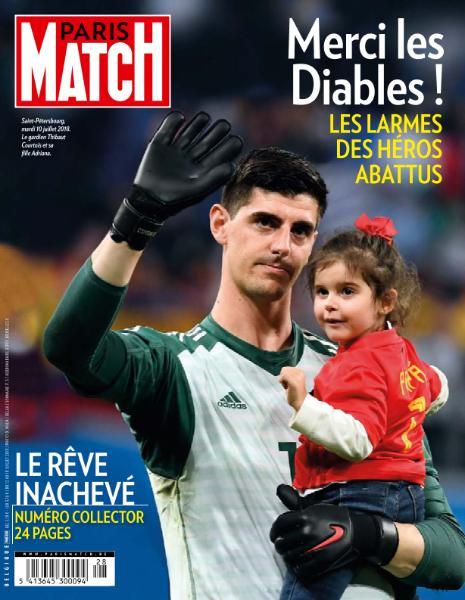 Paris Match Belgique – 12 Juillet 2018