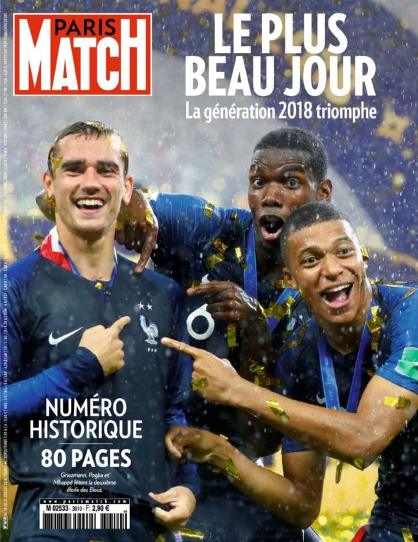 Paris Match – 18 Juillet 2018