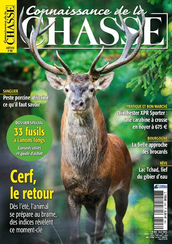 Connaissance De La Chasse – Août 2018
