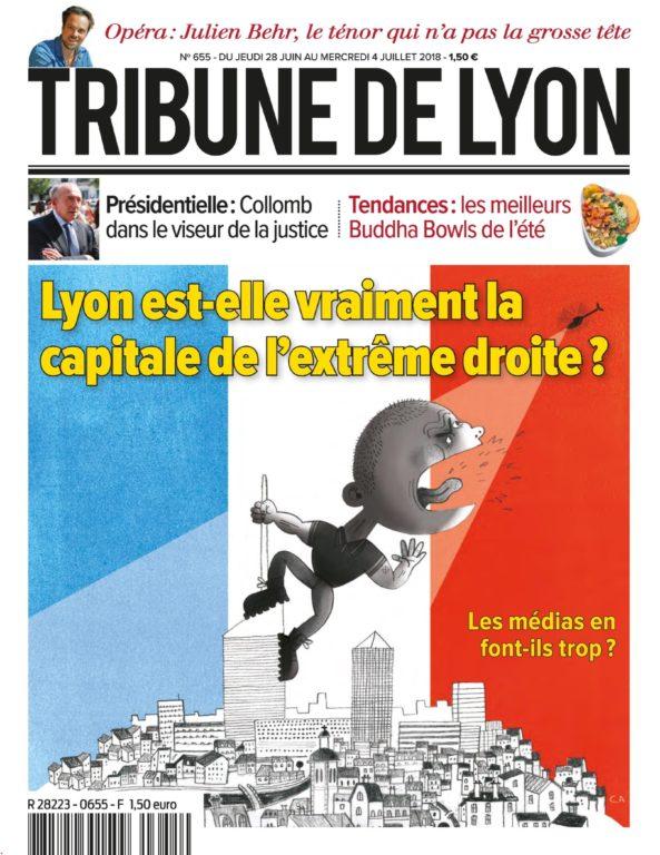 Tribune De Lyon – 28 Juin 2018