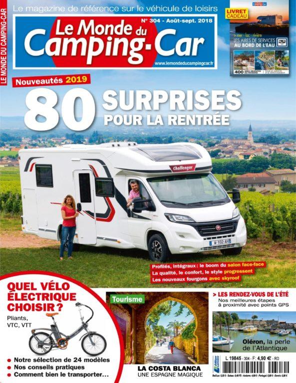 Le Monde Du Camping-Car – Août 2018