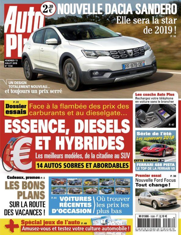 Auto Plus France – 13 Juillet 2018