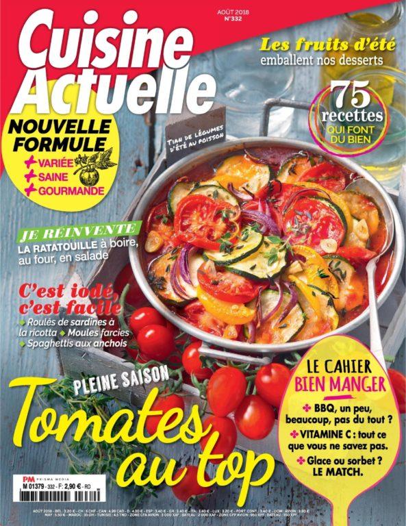 Cuisine Actuelle – Juillet 2018