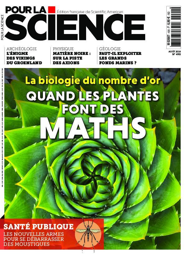 Pour La Science – Août 2018