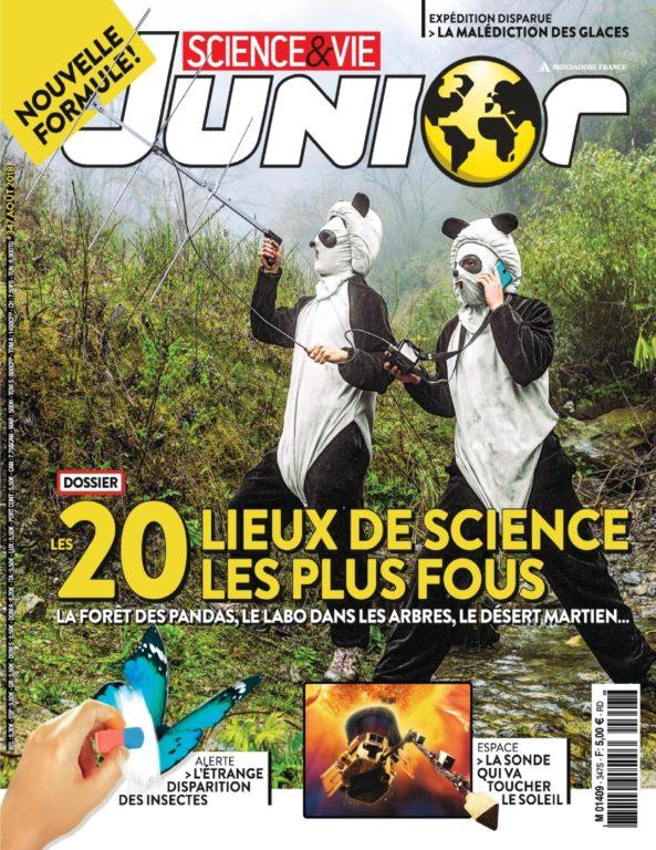 Science & Vie Junior – Août 2018
