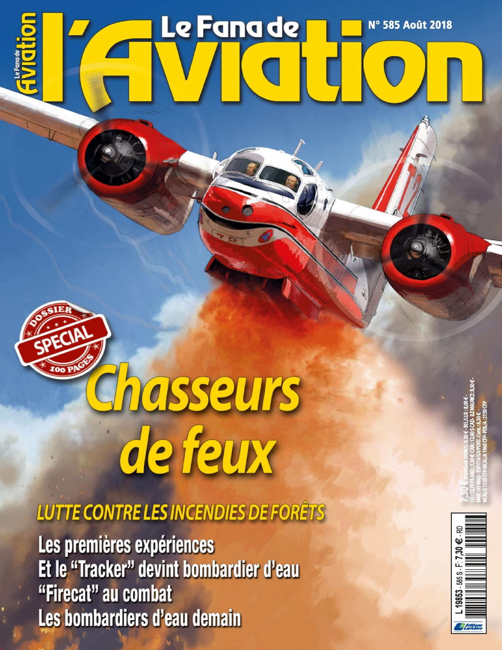Le Fana De L'Aviation – Août 2018