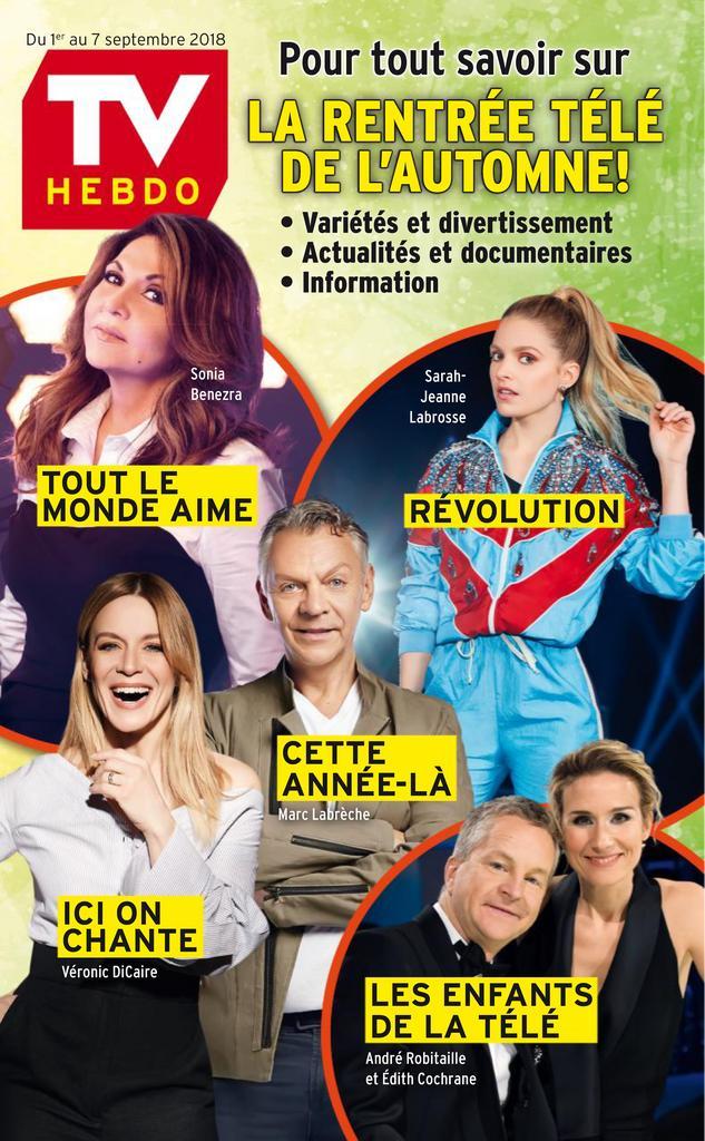 TV Hebdo – 01 Septembre 2018