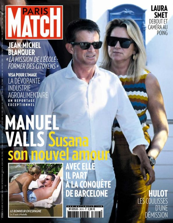 Paris Match – 30 Août 2018