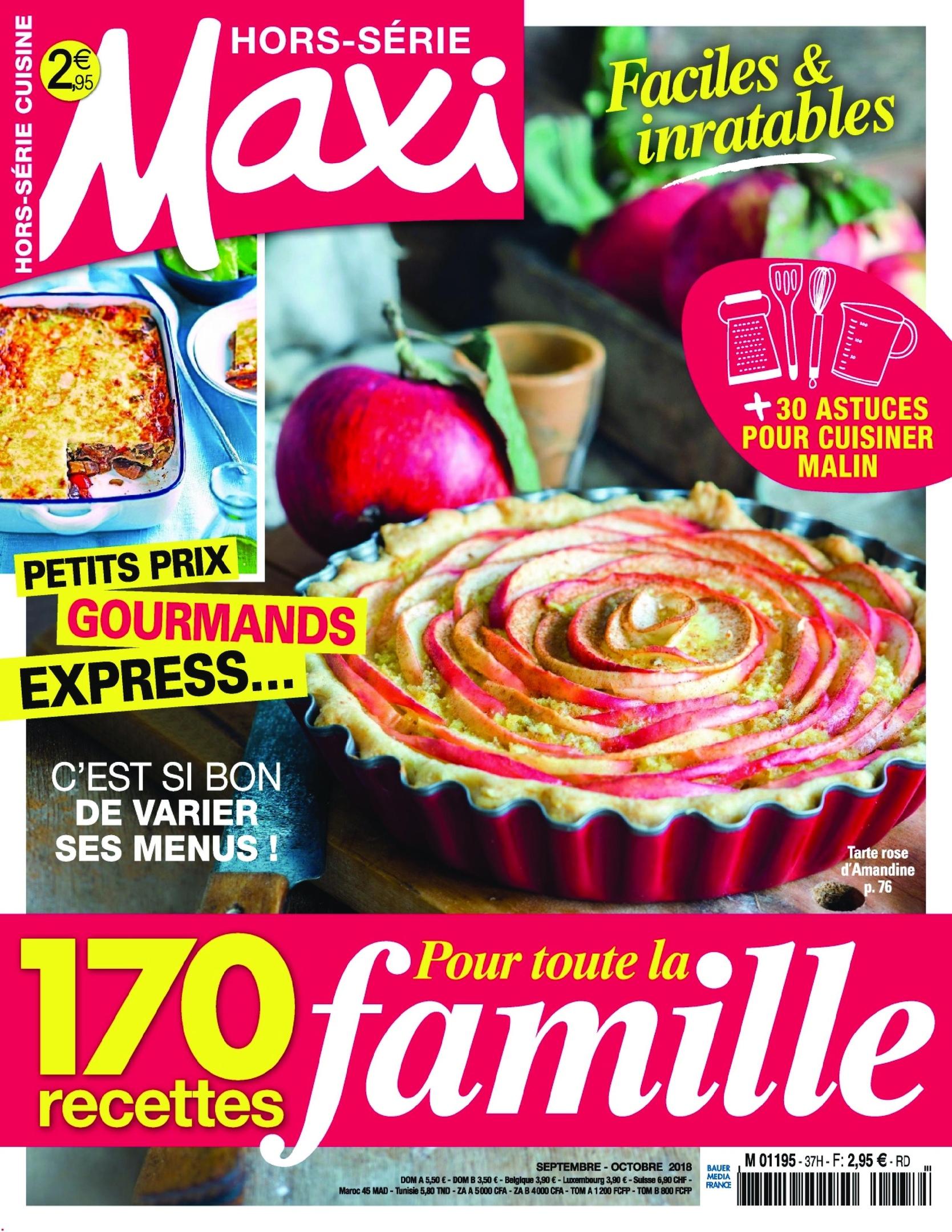 Maxi Hors-Série Cuisine – Août 2018